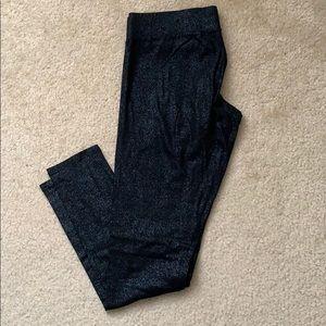 Mossimo black sparkle leggings